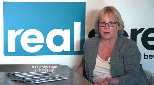 Thumbnail of Mary Donahue's testimonial video